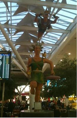Public art at Brisbane International Airport