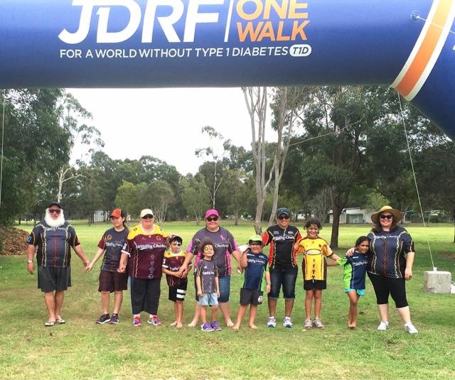 Walking for Junior Diabetes Research
