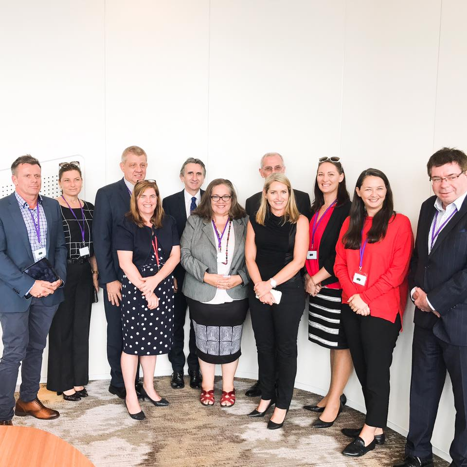 Queensland Government's Small Business Industry Roundtable meeting at 1 William Street, Brisbane